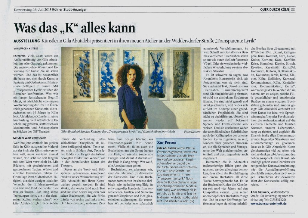 142 Kölner StadtAnzeiger 16072015