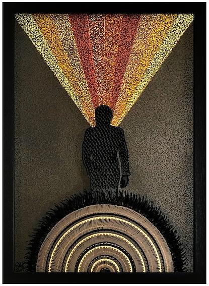 Jazz Man in black suit - IMG_0814