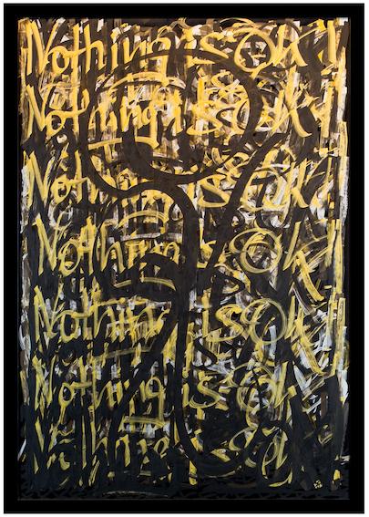 K Visual No. 147 - Nothing is OK - Gila Abutalebi