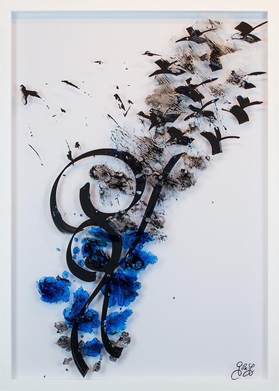 K Visual No. 148 - Goodbye K - Gila Abutalebi IMG_4057